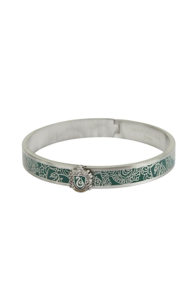 Image for Slytherin™ Crest Bangle Bracelet from UNIVERSAL ORLANDO