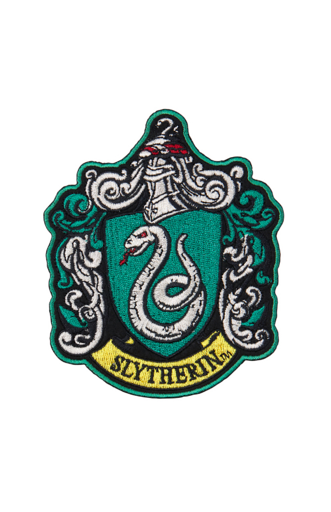 Image for Slytherin™ Crest Iron-On Patch from UNIVERSAL ORLANDO