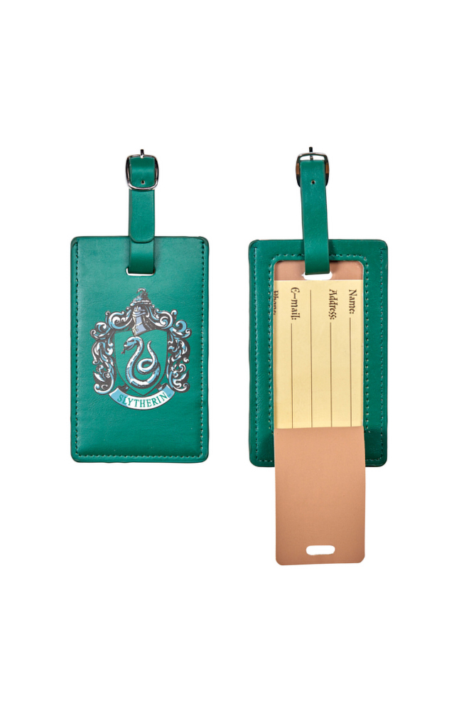 Image for Slytherin™ Crest Luggage Tag from UNIVERSAL ORLANDO