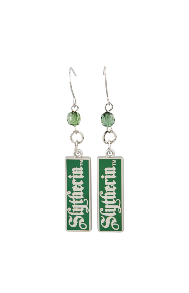 Image for Slytherin™ Drop Earrings from UNIVERSAL ORLANDO