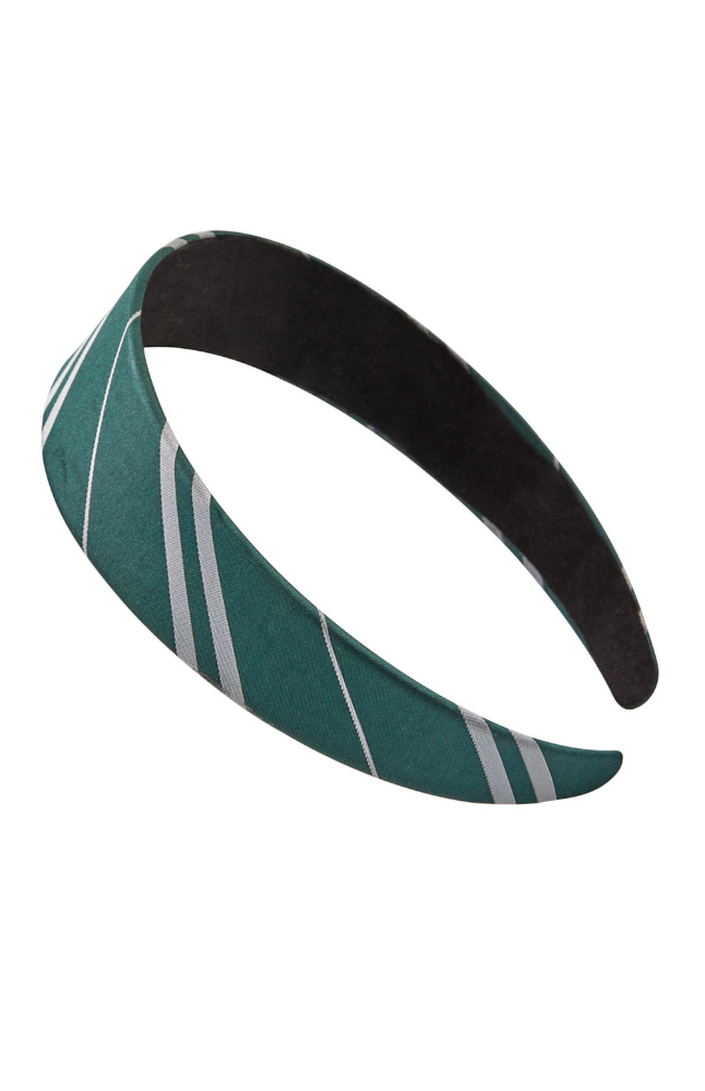 Image for Slytherin™ Striped Headband from UNIVERSAL ORLANDO