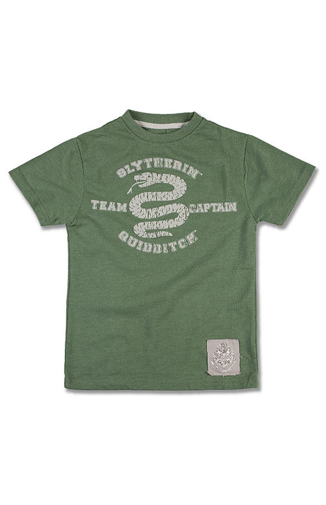 Image for Slytherin™ Team Captain Youth T-Shirt from UNIVERSAL ORLANDO