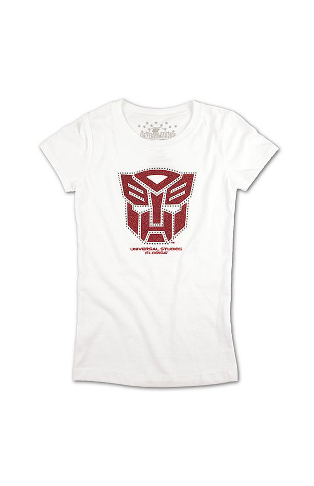Image for Transformers Autobot Shield Girls T-Shirt from UNIVERSAL ORLANDO