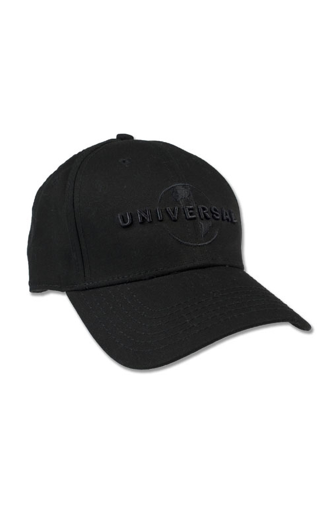 Image for Universal Logo Adult Black Cap from UNIVERSAL ORLANDO