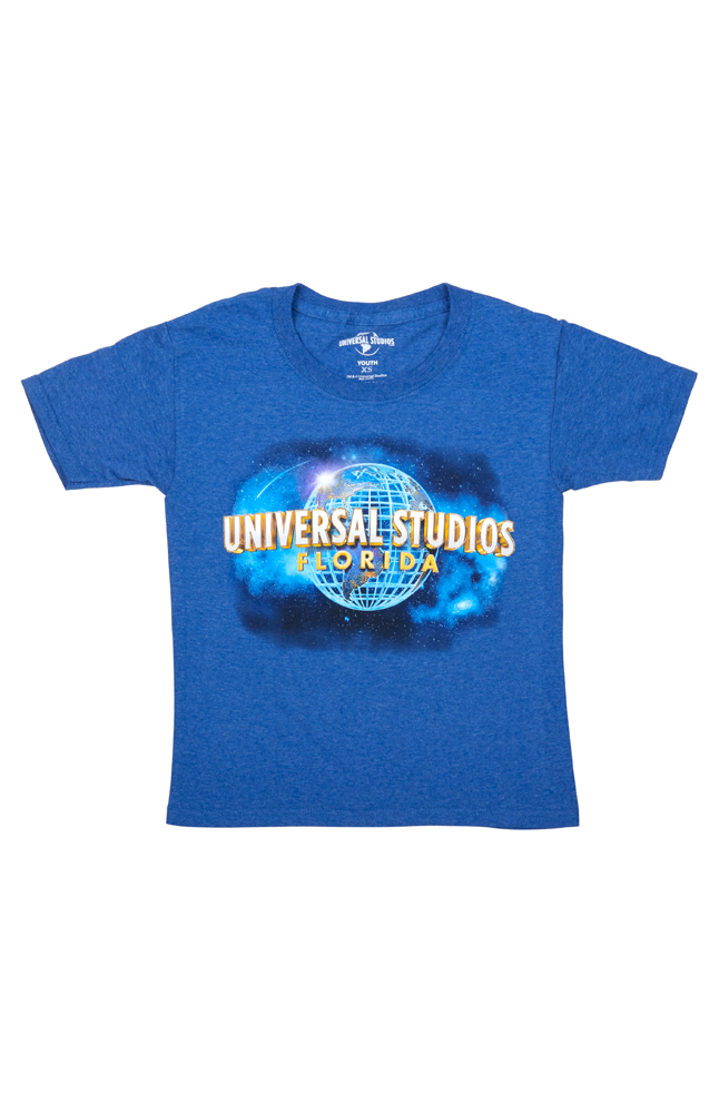 Image for Universal Studios Florida Blue Youth T-Shirt from UNIVERSAL ORLANDO