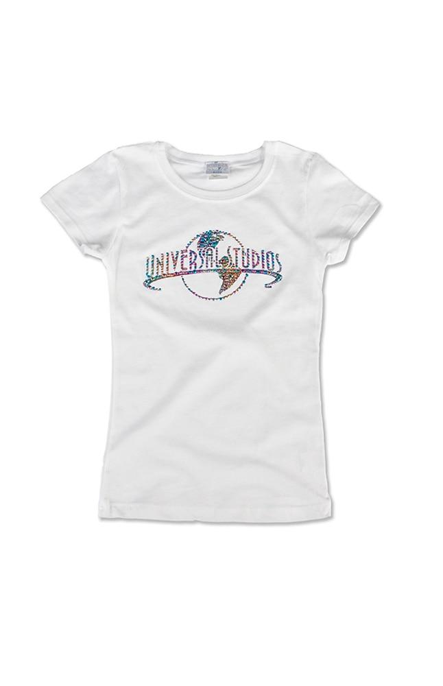 Image for Universal Studios Girls Rhinestud T-Shirt from UNIVERSAL ORLANDO