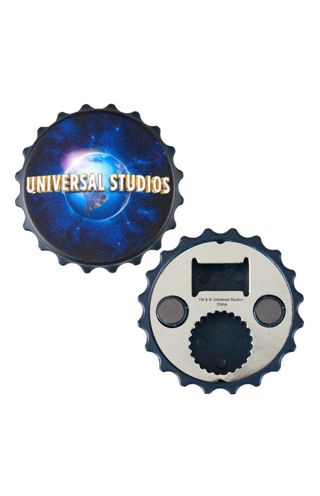 Image for Universal Studios Globe Bottle Opener Magnet from UNIVERSAL ORLANDO