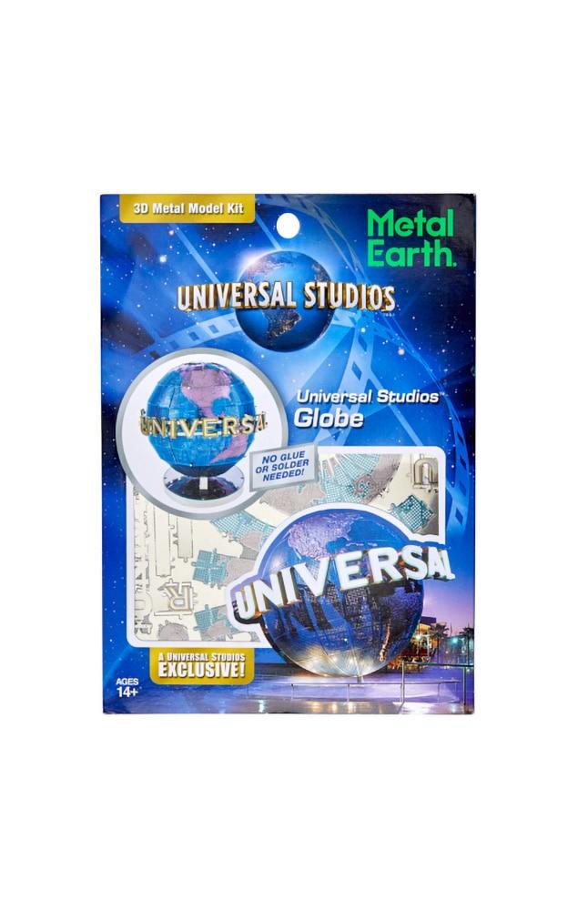 Image for Universal Studios Globe Metal Earth Model Kit from UNIVERSAL ORLANDO