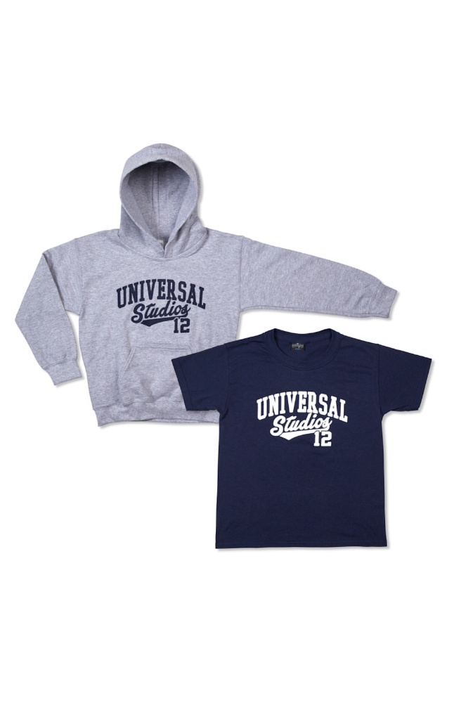 Image for Universal Studios Youth T-Shirt and Sweatshirt Combo from UNIVERSAL ORLANDO