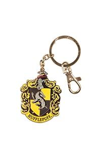 Hufflepuff Crest Medallion Keychain