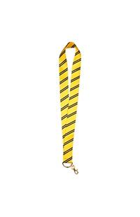 Hufflepuff Striped Tie Lanyard
