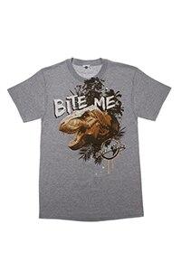 Jurassic Park Bite Me Adult T-Shirt