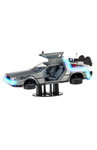 Back To The Future Part II Time Machine Light-Up Die Cast Model