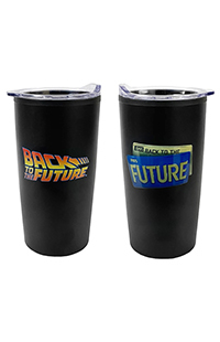 Back To The Future Travel Tumbler