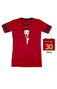Betty Boop™ Ladies Jersey Nightshirt