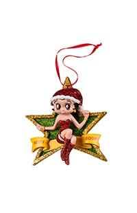 Betty Boop™ Star Ornament