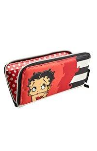 Betty Boop™ Striped Wallet