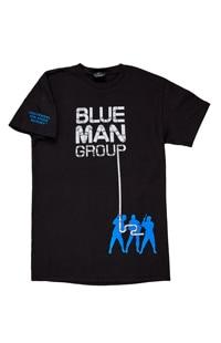 Blue Man Group Drumbone Adult T-Shirt