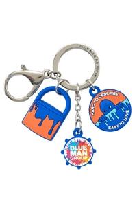 Blue Man Group PVC Charm Keychain