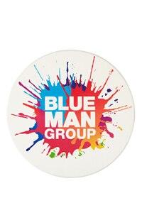 Blue Man Group Splat Logo Coaster