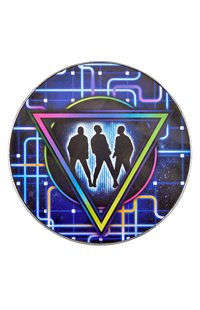 Blue Man Group Vortex Magnet