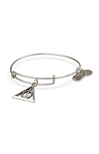 Deathly Hallows™ Silver-Tone Bangle by Alex and Ani®