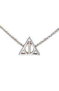 Deathly Hallows™ Sterling Silver Chain Necklace by Alex and Ani®