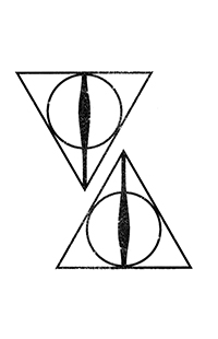 Deathly Hallows™ Temporary Tattoos