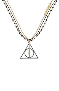 Deathly Hallows™ Triple-Strand Necklace