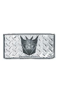 Decepticon Shield License Plate