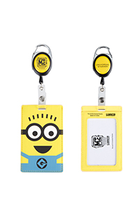 Despicable Me 2-Eye Minion Badge Reel