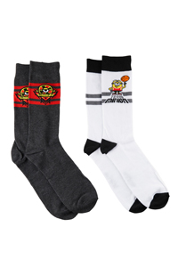 Despicable Me 2-Pack Adult Crew Socks