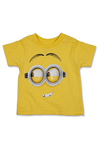 Despicable Me Minion Big Face Toddler T-Shirt