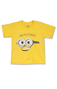 Despicable Me Minion Big Face Youth T-Shirt
