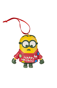 Despicable Me Minion Ornament With Sweater