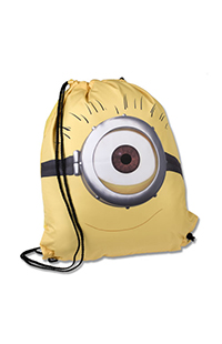Despicable Me One-Eye Minion Drawstring Backpack