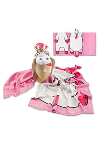 Despicable Me Fluffy Unicorn Hooded Towel
