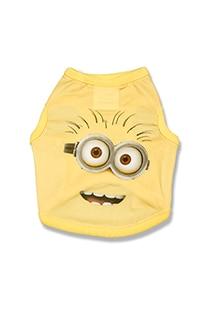 Despicable Me Minion Big Face Pet T-Shirt