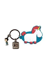 Despicable Me Unicorn Flashlight Keychain