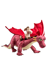 Donkey with Dragon Plush