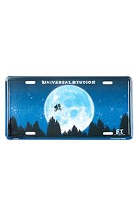 E.T. License Plate