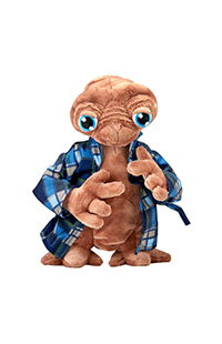 E.T. Plush with Flannel Robe