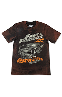 Fast & Furious Born for Speed Adult T-Shirt