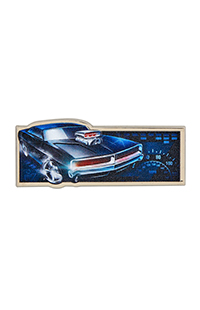 Fast & Furious Sculpted Pin