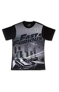 Fast & Furious Sublimated Men's T-Shirt