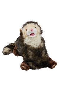 Ferret Plush Puppet