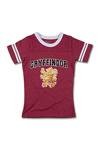 Gryffindor™ Striped Sleeves Girls T-Shirt