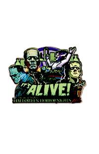 Halloween Horror Nights 2021 Artist Signature Series Frankenstein Pin