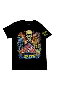 Halloween Horror Nights 2021 Artist Signature Series Frankenstein T-Shirt