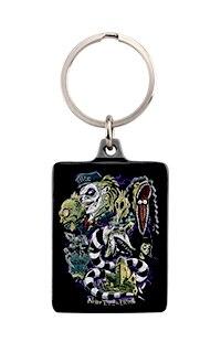 Halloween Horror Nights 2021 BEETLEJUICE™ Keychain